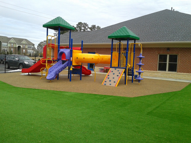 Playground Safety Surfaces Poured In Place Rubber Raleigh Nc